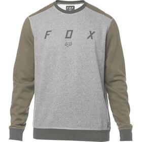 Fox Destrakt Crew Longsleeve Heren grijs/olijf